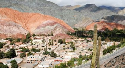 Destination Purmamarca in Argentina
