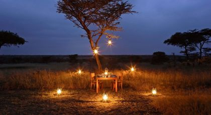 Masai Mara Conservancy in Kenia