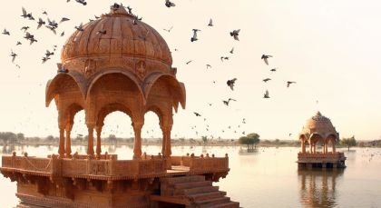 Destination Jaisalmer in North India
