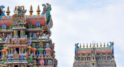 Madurai in Südindien