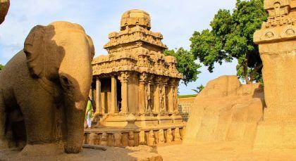 Destination Mamallapuram in South India
