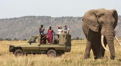 Destination Meru National Park in Kenya