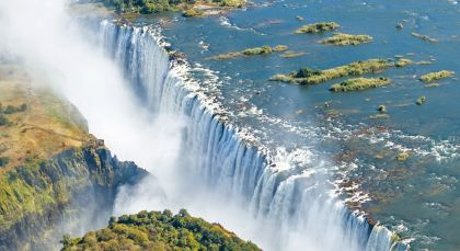 Destination Victoria Falls in Zimbabwe