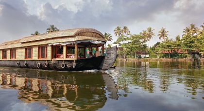 Destination Alleppey in South India