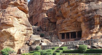 Destination Badami in South India