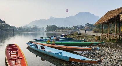 Destination Huay Xai / Mekong in Thailand