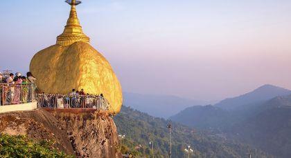 Reiseziel Kyaiktiyo in Myanmar