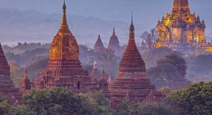 Destination Mandalay / Ayeyarwady in Myanmar
