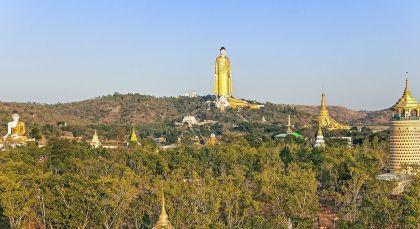 Reiseziel Monywa in Myanmar