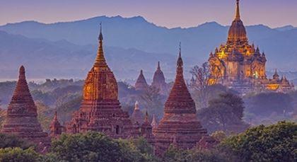 Myanmar Reisen in Asien