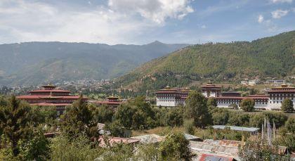 Reiseziel Thimphu in Bhutan