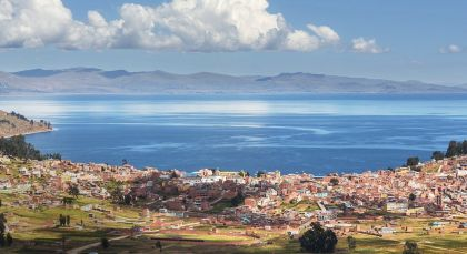 Copacabana in Bolivien