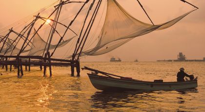 Destination Cochin in South India