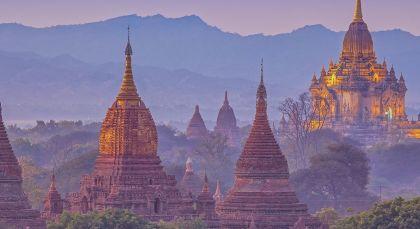 Destination Mrauk U in Myanmar