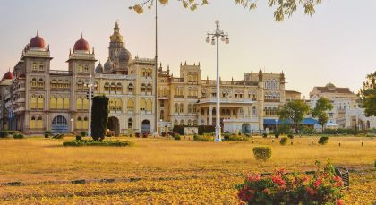 Destination Mysore in South India