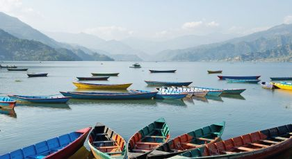 Reiseziel Pokhara in Nepal