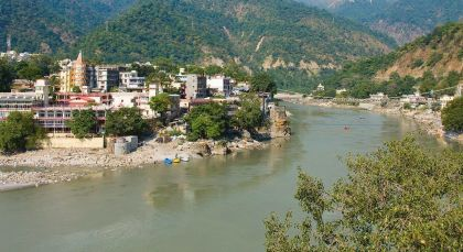 Destination Rishikesh in Himalayas