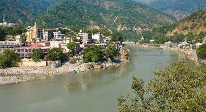 Reiseziel Rishikesh in Himalaja