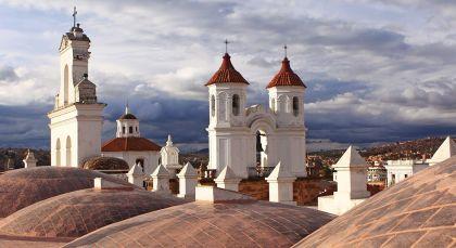 Reiseziel Sucre in Bolivien