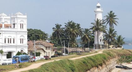 Galle Fort in Sri Lanka