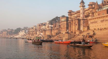 Destination Varanasi in North India