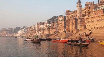 Reiseziel Varanasi in Nordindien