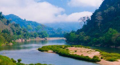 Reiseziel Nong Khiaw in Laos