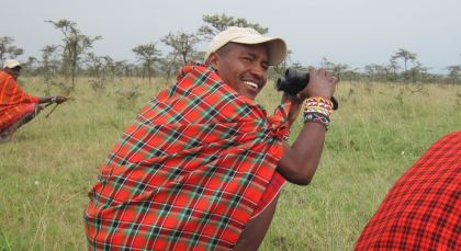 Masai Mara Walking Safari in Kenia