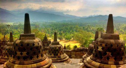 Reiseziel Borobudur in Indonesien