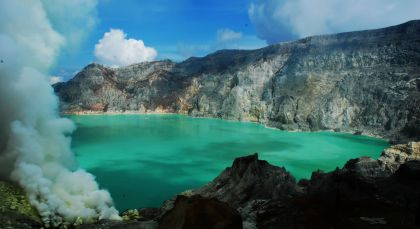 Ijen in Indonesien