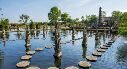 Reiseziel Candidasa in Indonesien