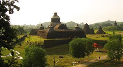 Destination Mrauk U in Myanmar