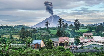 Destination Berastagi in Indonesia