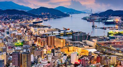 Destination Nagasaki in Japan