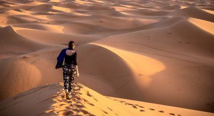 Merzouga in Marokko