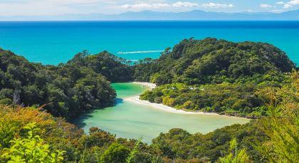 Abel Tasman Nationalpark in Neuseeland