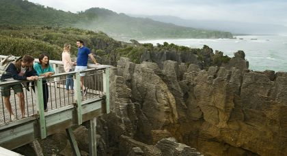 Destination Greymouth in New Zealand