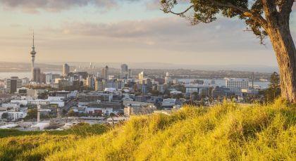 Destination Auckland in New Zealand