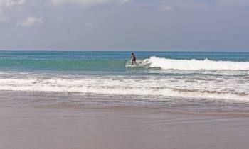Surfer in Seminyak