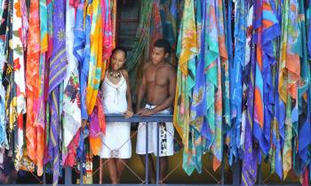 Victoria Market, Mahe, Seychelles