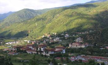 Thimphu, capital of Bhutan
