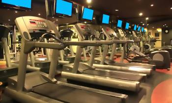 this is a photo of the fitness centre at the Melia Bali Indonesia
