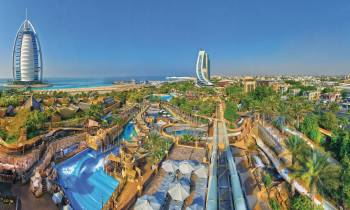 a view of Wild Wadi Water Park