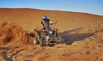 Quadbiking on the Dunes
