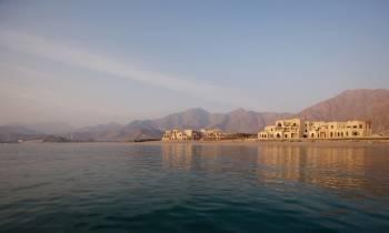 Fujairah shoreline