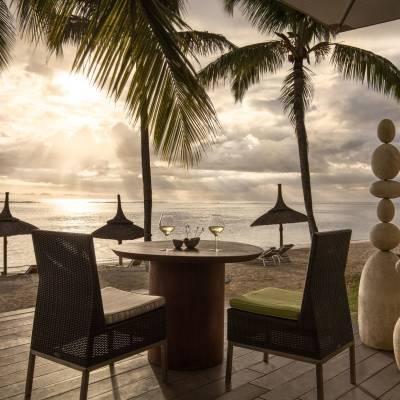 Tides Restaurant Outdoor Area at Sugar Beach in Mauritius