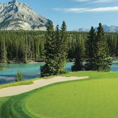 Banff Springs Golf Course Hole