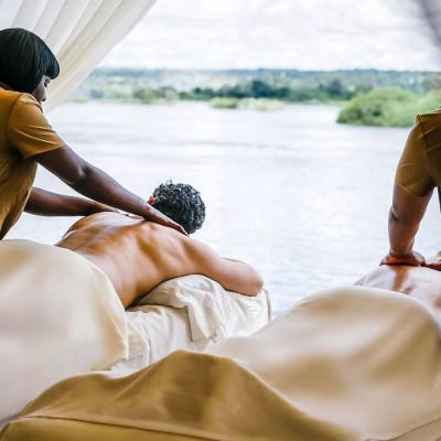 Massage with a view