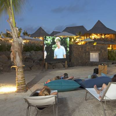 Zilwa Attitude outdoor cinema