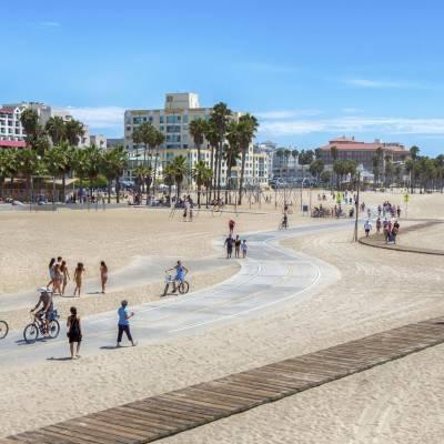 Beach Cycle Path